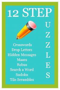 12 Step Puzzle Book