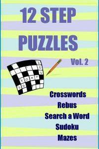 12 Step Puzzle Book Vol.2