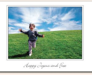 Recovery-Greeting-Cards - Happy Joyous and Free