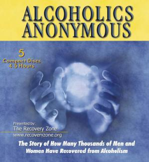 "Alcoholics Anonymous ""Big Book"" on CD"