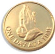 Praying Hands 22k Gold Plated AA Medallion