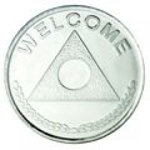 Alanon Aluminum Newcomer Welcome Medallion DC86
