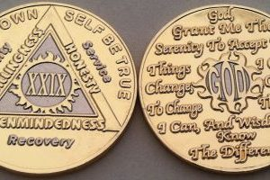 Anniversary Gold and Nickel God Centered-Sunlight of the Spirit AA Coin