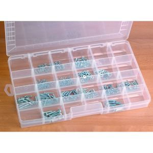 Coin Storage Case- 24 Compartment