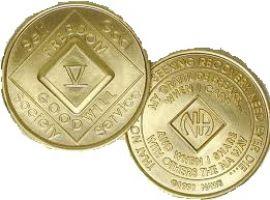 Anniversary NA Coin- Bronze NA Medallion