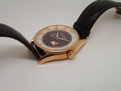 "The ""Brown Praying Camel"" Recovery Watch by Bulova"