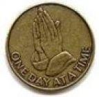 Antique Bronze Praying Hands