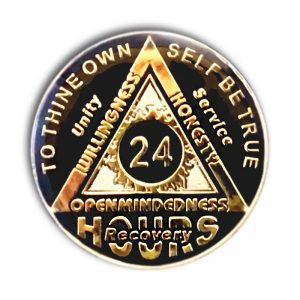 AA 24 Hour Sunlight of the Spirit Tri-Plated AA Coin