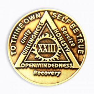 Anniversary Antique Bronze AA Coin Sunlight of the Spirit