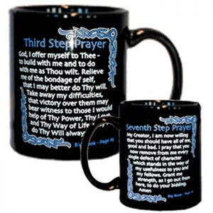 AA 3rd and 7th Step Prayers Coffee Mug
