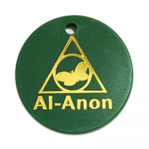 Al-anon Anniversary Plastic Chips -