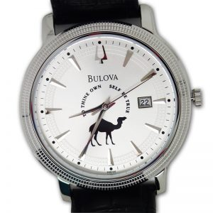 "The ""Thine Camel"" by Bulova USA with One ""Date"" at a time date indicator"