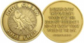 Serenity Series Bronze Recovery Medallions