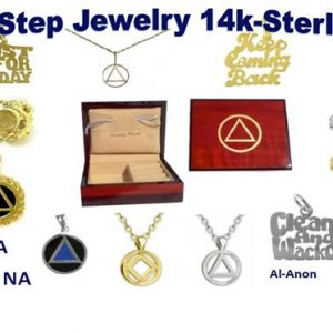 12 Step Recovery Jewelry for AA, NA & Al-Anon