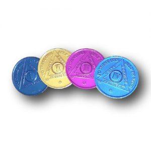 aluminum aa coins years